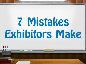 """7 Mistakes Exhibitors Make"" video series promo"