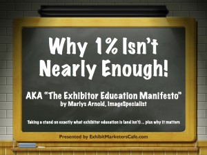 Exhibitor Education Manifesto