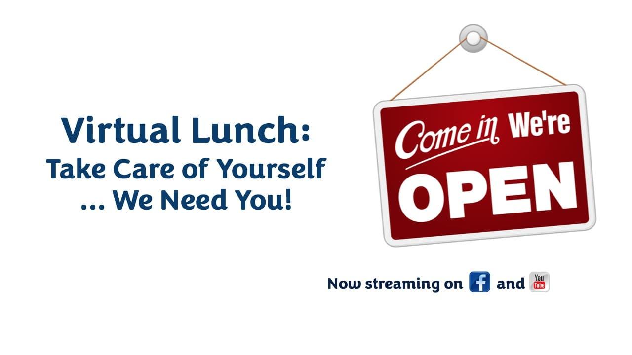 Virtual Lunch banner - 7.7.20